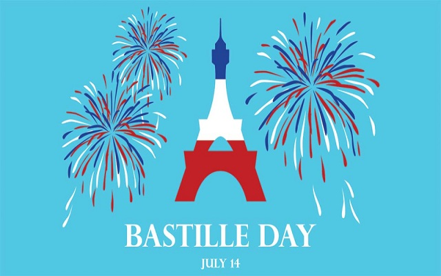 Happy bastille day wishes, Messages, Quotes, Status 14th July 2020 To Celebrate French National Day