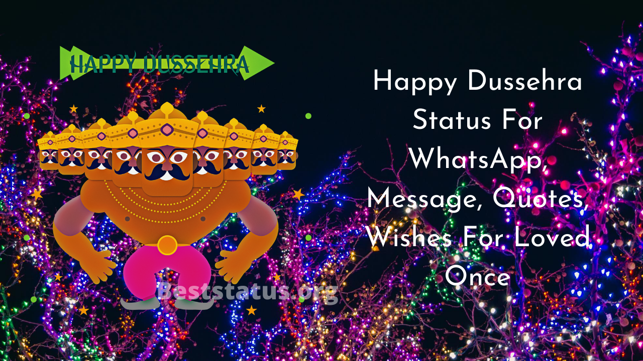 Happy Dussehra Messages, Wishes, Quotes, SMS, Images 2020