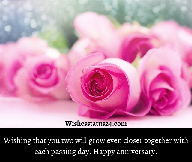 Happy wedding anniversary wishes for parents