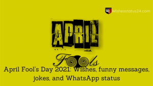 april fool wishes