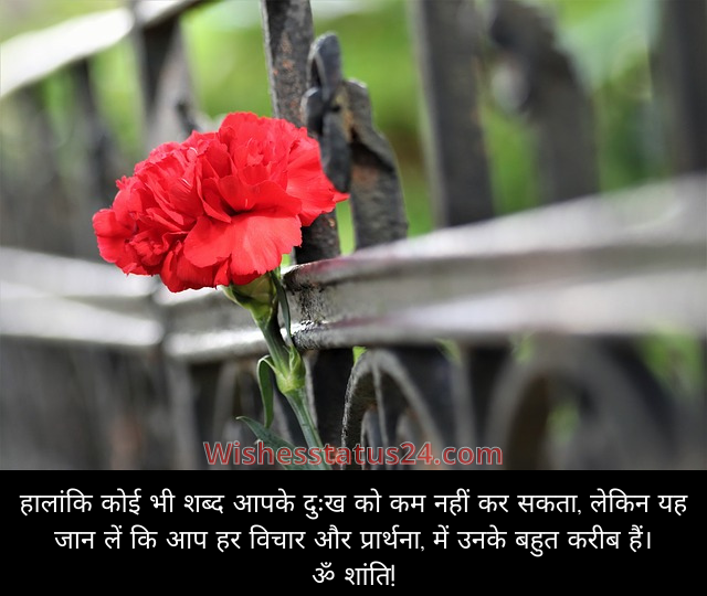 Short condolence message