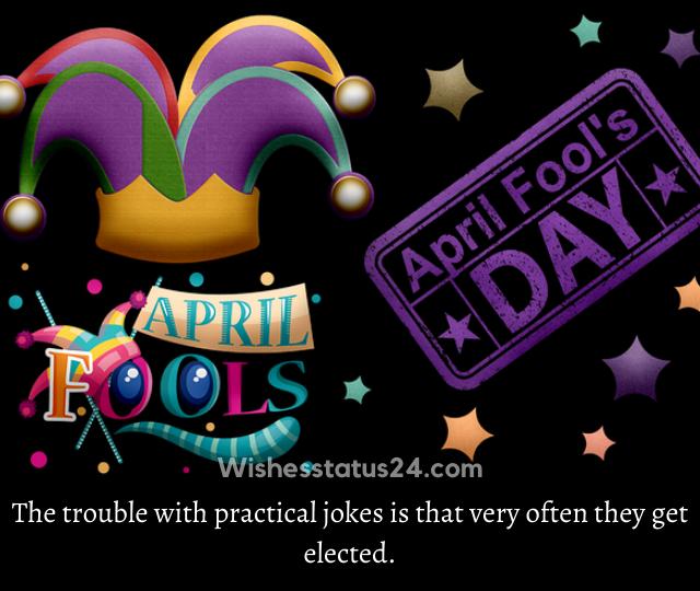april fool messages