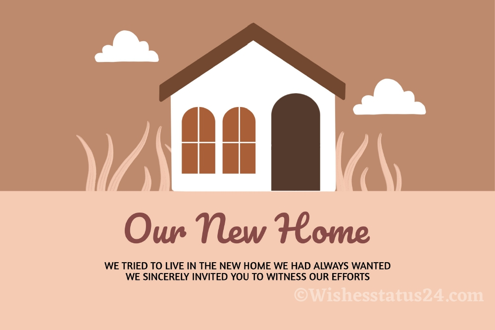 Short Housewarming Wishes, Quotes, Messages For Best Friend